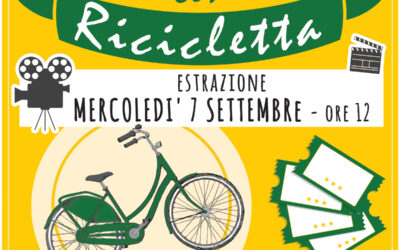 """Estrazione premio """"in prima fila con Ricicletta"""""""