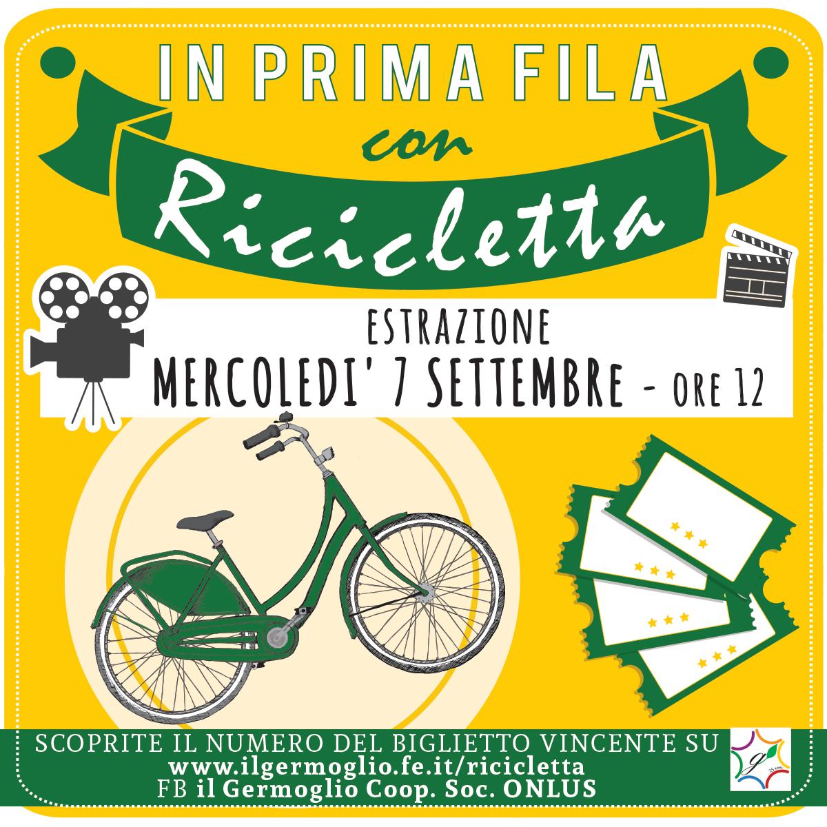 """Estrazione premio """"in prima fila con Ricicletta"""" - Il ..."""
