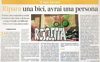 Ricicletta sul Corriere della Sera