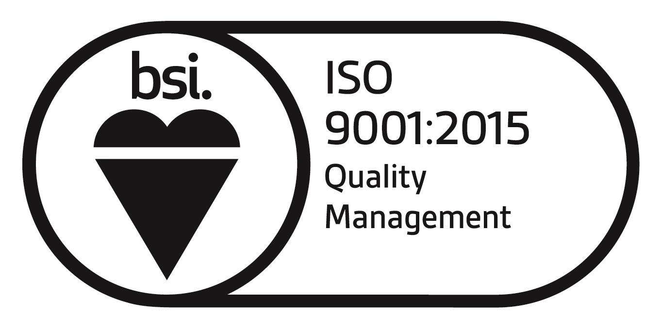 Logo BSI Qualità ISO 9001:2015